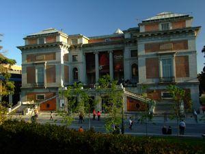 Madrid, Museo del Prado, Puerta de Goya