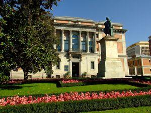 Madrid, Museo del Prado, Puerta de Murillo