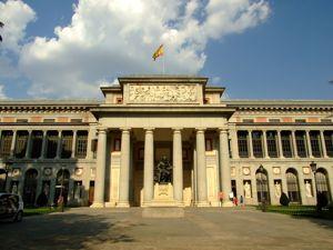Madrid, Museo del Prado, Puerta de Velazquez