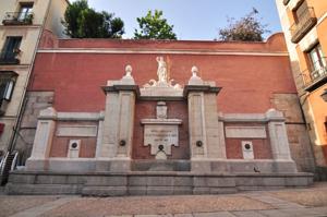Madrid, Fuente de la Cruz Verde