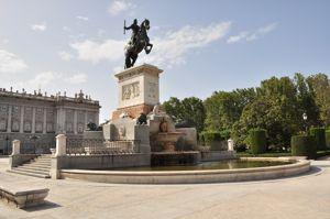Madrid, Fuente de Felipe IV