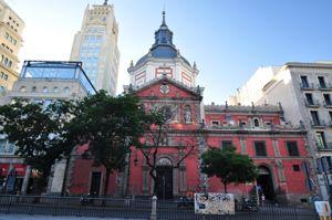 Madrid, Iglesia de las Comendadoras de Calatrava