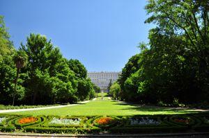 Madrid, Jardines del Campo del Moro
