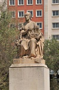 Monumento a Miguel de Cervantes, Dulcinea del Toboso