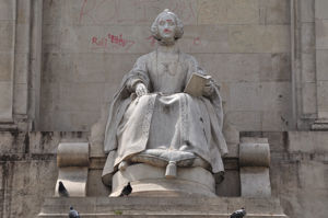 Monumento a Miguel de Cervantes, Lengua Española