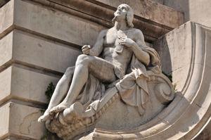 Monumento a Miguel de Cervantes, Misticismo
