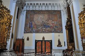 """Madrid, Iglesia del Monasterio de las Mercedarias Descalzas """"las Góngoras"""", Brazo del crucero del lado del Evangelio"""