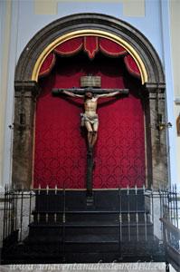 """Madrid, Iglesia del Monasterio de las Mercedarias Descalzas """"las Góngoras"""", Capilla del Cristo de la Buena Muerte"""