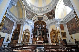"""Madrid, Crucero y Capilla Mayor de la Iglesia del Monasterio de las Mercedarias Descalzas """"las Góngoras"""""""