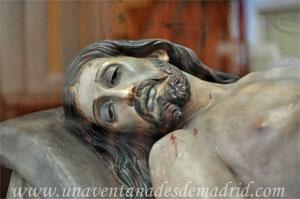"""Madrid, Iglesia del Monasterio de las Mercedarias Descalzas """"las Góngoras"""", Cristo Yacente"""