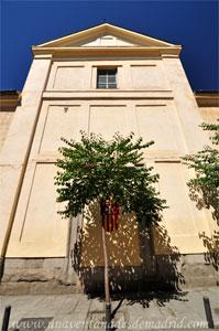 """Madrid, Iglesia del Monasterio de las Mercedarias Descalzas """"las Góngoras"""", Fachada Este del crucero"""