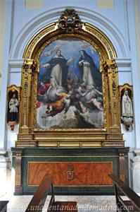 """Madrid, Iglesia del Monasterio de las Mercedarias Descalzas """"las Góngoras"""", Retablo de San Pedro Mártir de Verona y de Santa Catalina de Siena"""