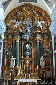 """Madrid, Iglesia del Monasterio de las Mercedarias Descalzas """"las Góngoras"""", Retablo Mayor"""
