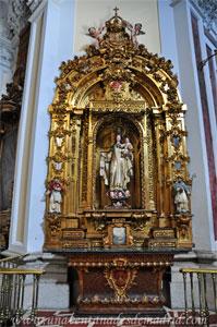 """Madrid, Iglesia del Monasterio de las Mercedarias Descalzas """"las Góngoras"""", Retablo de Nuestra Señora de la Merced"""