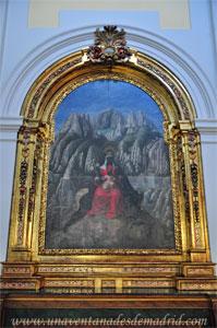"""Madrid, Iglesia del Monasterio de las Mercedarias Descalzas """"las Góngoras"""", Retablo de Nuestra Señora de Montserrat"""