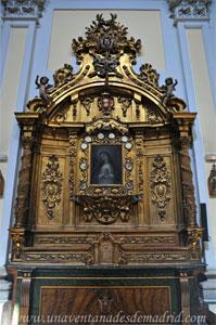 """Madrid, Iglesia del Monasterio de las Mercedarias Descalzas """"las Góngoras"""", Retablo de Nuestra Señora de la Soledad de la Victoria"""