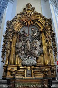 """Madrid, Iglesia del Monasterio de las Mercedarias Descalzas """"las Góngoras"""", Retablo de Nuestra Señora de las Tres Avemarías"""