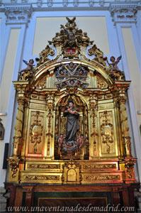 "Madrid, Iglesia del Monasterio de las Mercedarias Descalzas ""las Góngoras"", Retablo de San Antonio"