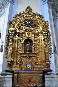 """Madrid, Iglesia del Monasterio de las Mercedarias Descalzas """"las Góngoras"""", Retablo de San José"""