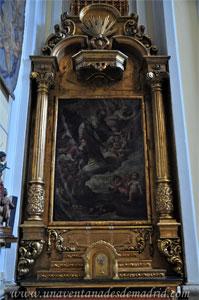 """Madrid, Iglesia del Monasterio de las Mercedarias Descalzas """"las Góngoras"""", Retablo de San Nicolás de Bari"""