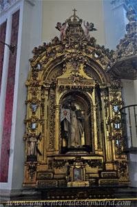 "Madrid, Iglesia del Monasterio de las Mercedarias Descalzas ""las Góngoras"", Retablo de San Pedro Nolasco"