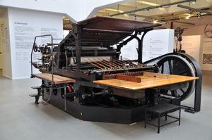 Imprenta Municipal, Máquina plano-cilindrica Planeta Fixia Rapid de 1913