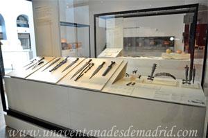 Museo Arqueológico Nacional, Vitrina de armas íberas