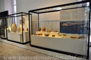 Museo Arqueológico Nacional, Vitrinas dedicadas a la colonización fenicia