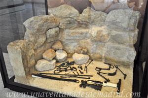 Museo Arqueológico Nacional, Recreación de una Sepultura tumular