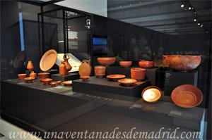 Museo Arqueológico Nacional, Cerámica roja realizada en terra sigillata