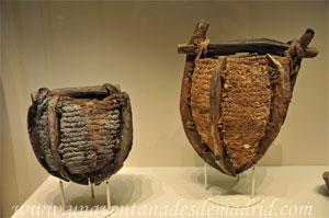 Museo Arqueológico Nacional, Cestos utilizados en la minería para desaguar a manos zonas inundadas