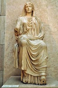 Museo Arqueológico Nacional, Estatua de Livia, esposa del emperador Augusto