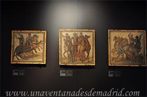 Museo Arqueológico Nacional, Mosaicos que muestra al auriga victorioso