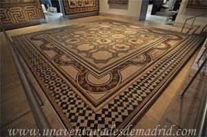 Museo Arqueológico Nacional, Mosaico de las estaciones y los meses