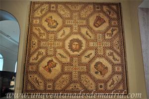Museo Arqueológico Nacional, Mosaico de Medusa y las estaciones