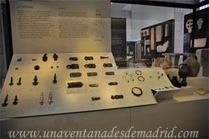Museo Arqueológico Nacional, Joyas, broches y fíbulas hallados en necrópolis