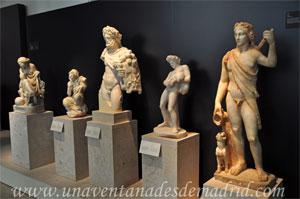 Museo Arqueológico Nacional, Esculturas propias del peristylum