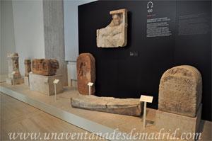 Museo Arqueológico Nacional, Sarcófagos, aras y estelas