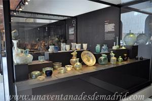 Museo Arqueológico Nacional, Vitrina del vidrio