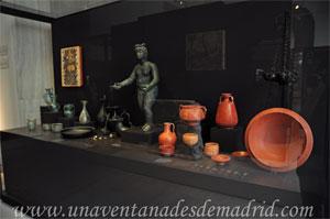 Museo Arqueológico Nacional, Objetos propios del triclinium