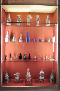 Museo Nacional de Artes Decorativas, Real Fábrica de Cristales de la Granja, segunda época