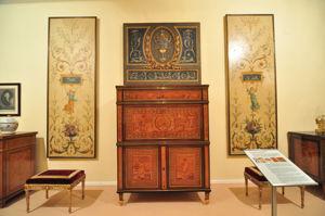 Museo Nacional de Artes Decorativas, Innovaciones técnicas. Marquetería y porcelana