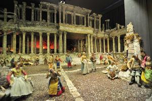 Museo Nacional de Artes Decorativas, Figuras y escenario del nacimiento napolitano