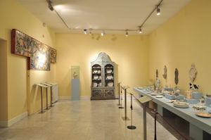 Museo Nacional de Artes Decorativas, Sala de la Cerámica de Alcora
