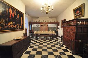 Museo Nacional de Artes Decorativas, Recreación de una cocina del siglo XVII