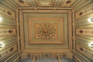 Museo Nacional de Artes Decorativas, Techo de la escalera imperial