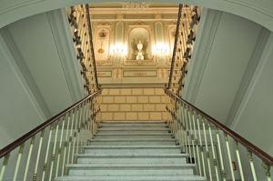 Museo Nacional de Artes Decorativas, Escalera imperial