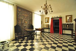 Museo Nacional de Artes Decorativas, Sala para recibir visitas o cuadra