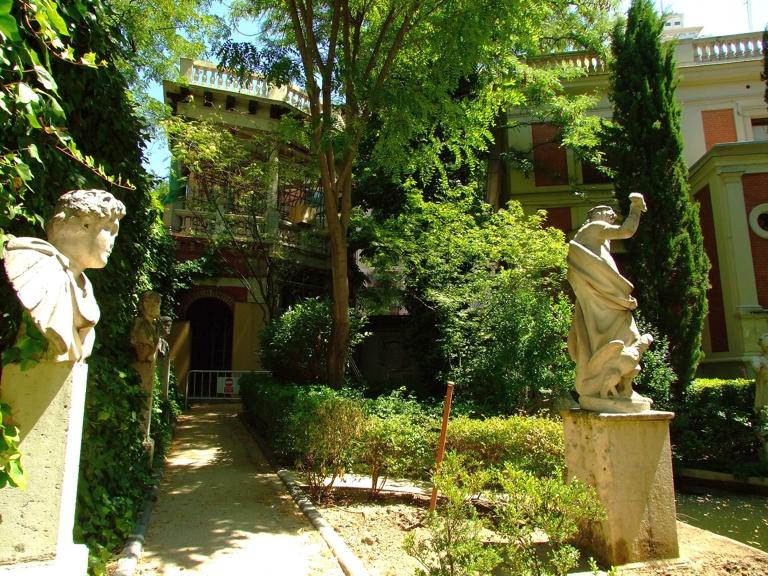 Museo cerralbo for Casa jardin madrid