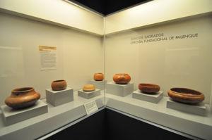 Museo de América, Cerámicas fundacionales halladas en los cimientos de los templos de Palenque